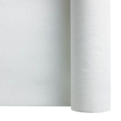 nappe non tisse blanche nappe 50m facon non tisse pas cher blanc