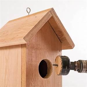 Plan Nichoir Oiseaux : plan pour fabriquer un nichoir pour les oiseaux je jardine ~ Melissatoandfro.com Idées de Décoration