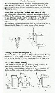 Kenmore 90 Series Washing Machine  Water Won U0026 39 T Drain