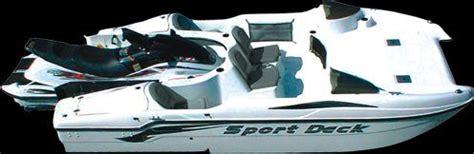 Jet Ski Sport Deck Boat by My Shuttle Craft Sports Deck Jet Boat