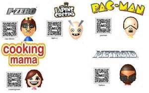 3DS Mii QR Codes