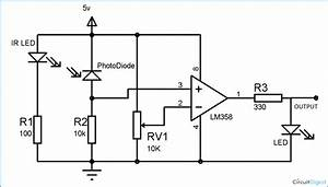 Diy Ir Sensor Module Circuit Diagram