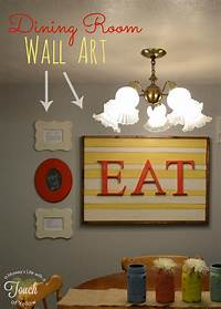 dining room wall art Poppy Seed Projects: Guest Post - DIY Dining Room Wall Art ...