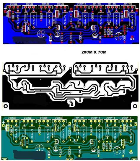schema  layout  power amplifier   sound
