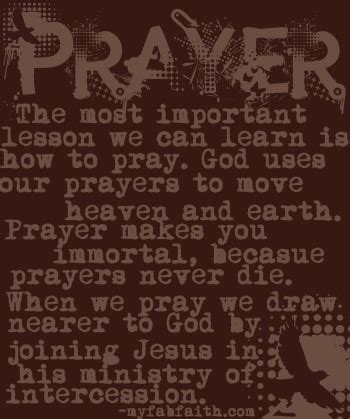 Christian Quotes Power Prayer