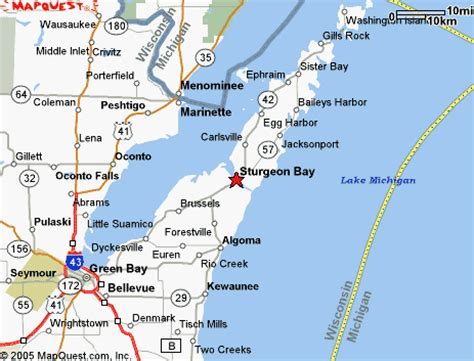 map of door county wi my trip to door county or a dissertation on the cherry