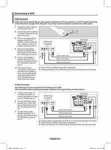 Connecting A Vcr
