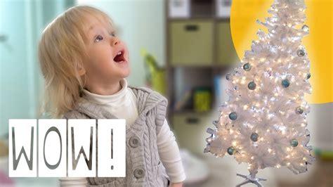 toddler amazed  christmas tree thepfledpfam youtube