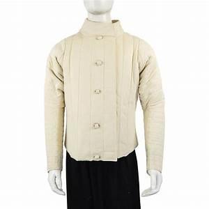 Fencing Jacket - Natural SNMC7601E - Coats and Jerkins