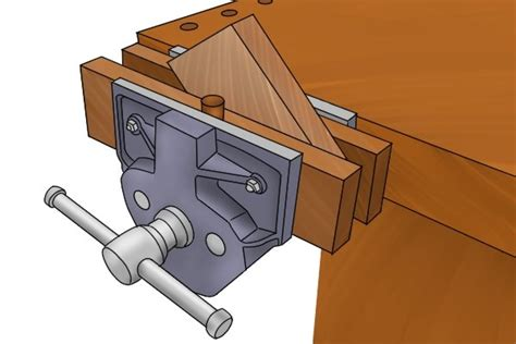 woodworking vice wonkee donkee tools