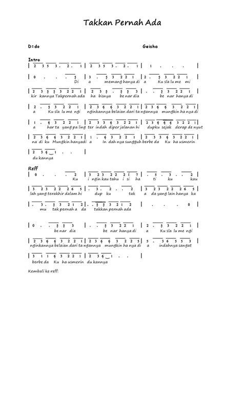 not angka lagu apalah arti menunggu not angka lagu