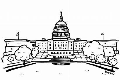 Legislative Branch Clipart Congress Government Drawing Animated