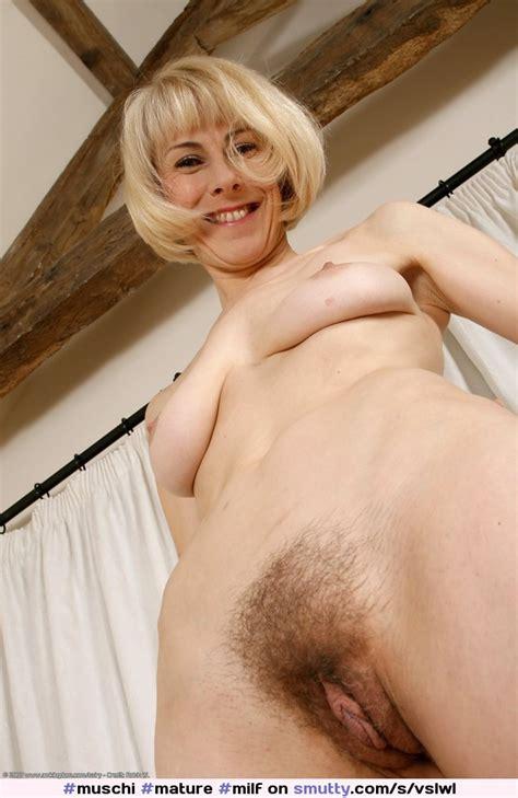 Hazel May Mature Milf Hairy Pussy