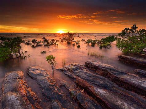 australia evening coast-Scenery HD Wallpaper Preview ...