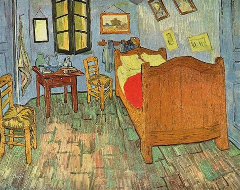 gogh the bedroom paintings vincent gogh the bedroom in arles