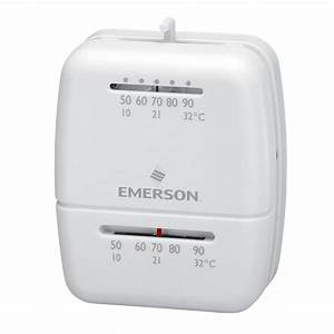 Emerson Mechanical Heat Only Thermostat 1c20-101-1c20-101