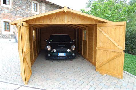 Box Auto In Legno by Casette E Garage In Legno