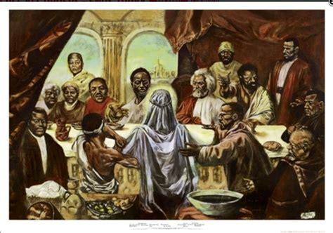 Last Supper W/ Jesus & Famous Blackmen