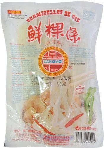 pate de riz frais 10mm quot lakovo quot 400g