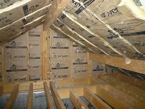 Isolation Des Combles Au Sol : chantier isolation ldv combles notre maison de c dre ~ Premium-room.com Idées de Décoration