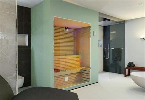 Kleines Badezimmer Mit Sauna by Moderne B 228 Der Mit Sauna