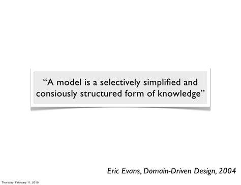 eric domain driven design domain analysis data modeling