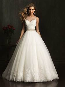 elegant look with lace ball gown wedding dresses cherry With ball gown wedding dress