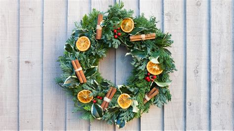traditional christmas wreath youtube