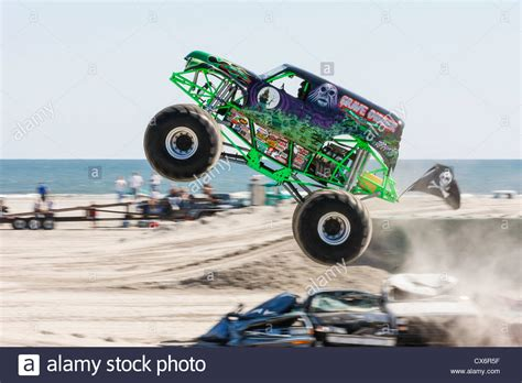 monster truck show wildwood nj grave digger monster truck at show competition on the
