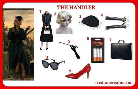 How To Dress Like The Handler Costume From The Umbrella ...