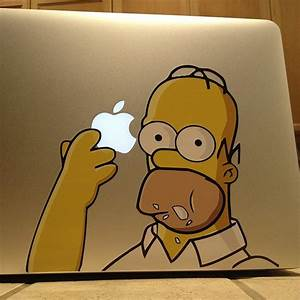 Day Designer Stickers Homer Macbook Decals Fancy Com