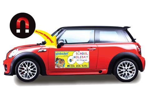 car door magnets durable color car magnet advertising magnets by hsmag