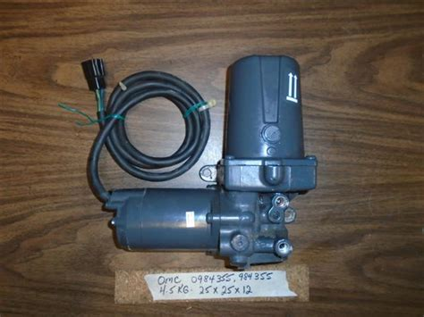 Omc Cobra Power Trim Tilt Pump