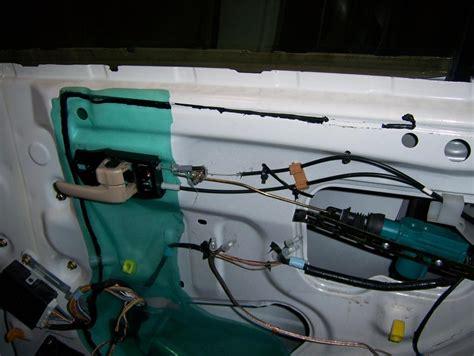 rear door lock cable severed serious problems clublexus lexus forum discussion