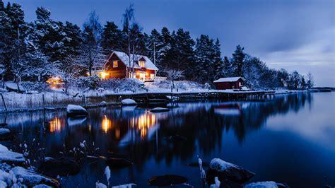 foto de fonds d'écran paysages d'hiver