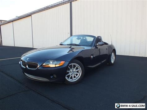 Bmw Z4 For Sale by 2003 Bmw Z4 Roadster For Sale In United States