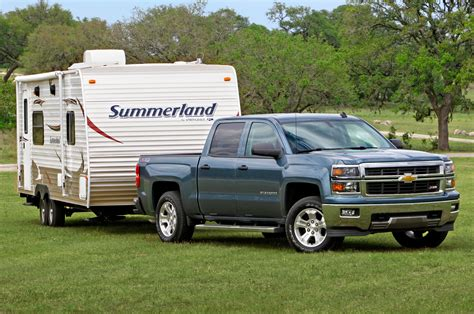 chevrolet silverado tow ratings revised  sae switch
