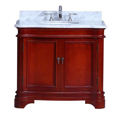 Cambria Vanity by Cambria Vanity 36in Cherry Home Surplus