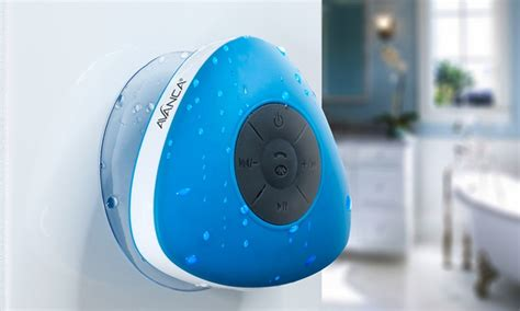 Farbe Für Nassräume by Avanca Bluetooth Shower Speaker Groupon Goods