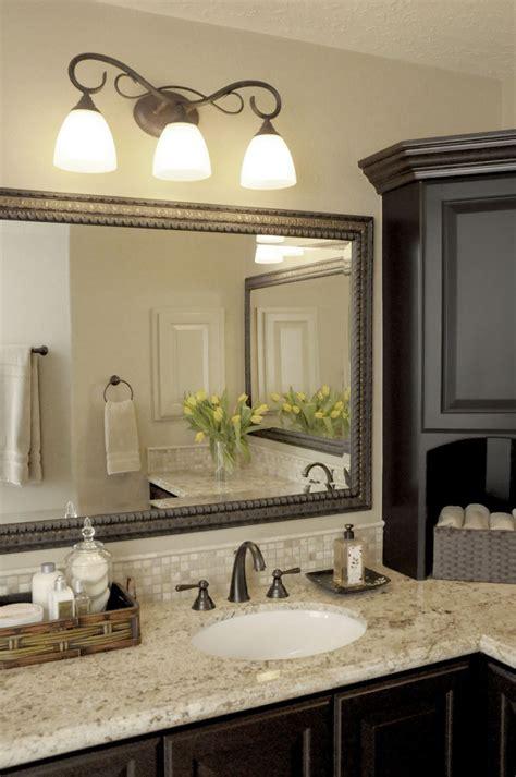 traditional bathroom design glorious brushed nickel bathroom mirror decorating ideas