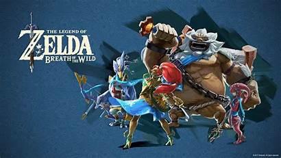 Zelda Breath Wild Legend Desktop Wallpapers Nintendo