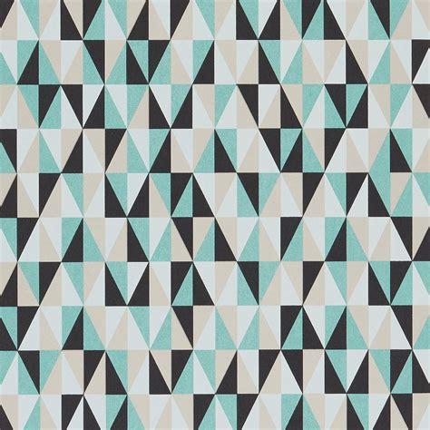 papier peint polyjade 100 intiss 233 motif g 233 om 233 trique vert