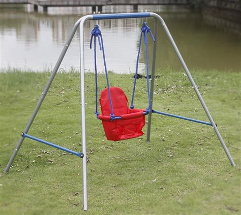 Outdoor Baby Swing by Outdoor Swing Set For 1 Year Outdoor Furniture