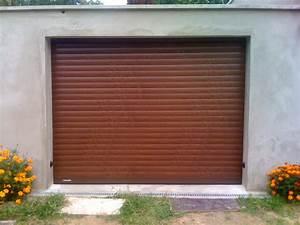 porte garage enroulable ton bois 1 centpourcentpose With porte de garage enroulable de plus porte bois