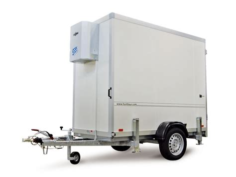 remorque chambre froide humbaur cooltrailer remorque frigorifique remorque