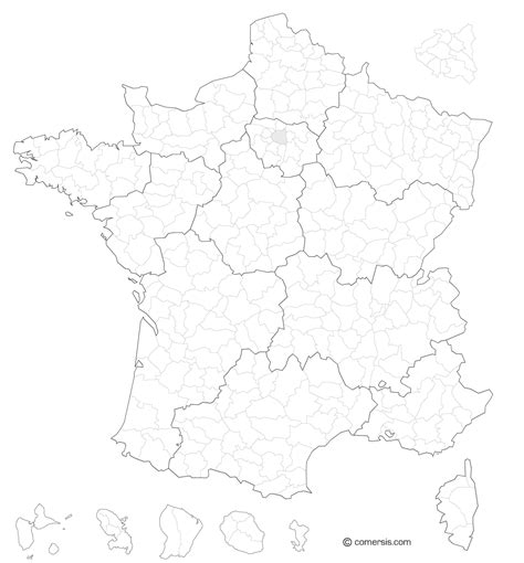 Carte De Avec Les Arrondissements by Carte Des Arrondissements De My