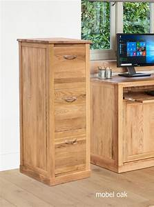 Baumhaus Mobel Oak 3 Drawer Filing Cabinet Casamo Love
