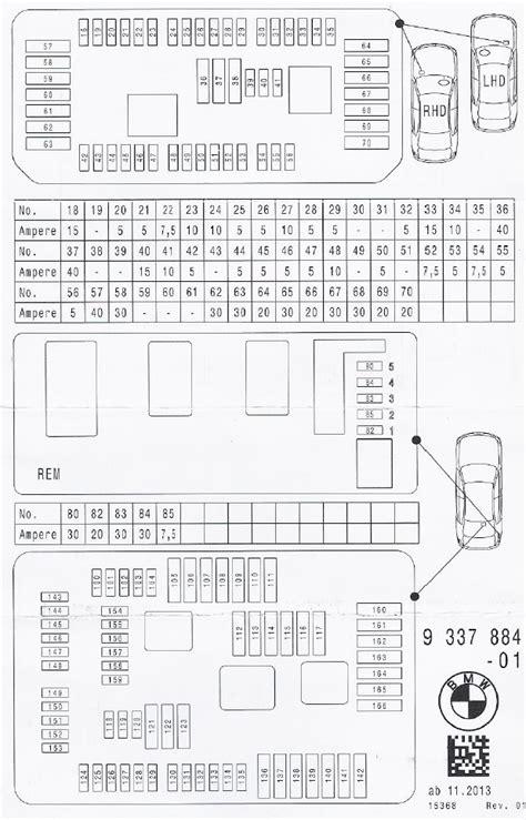 Bmw 118d Wiring Diagram by Bmw Serie 3 F30 F31 F34 Richiesta Pdf Schema Fusibili