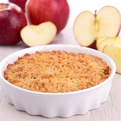 dessert facile au pomme recette crumble facile aux pommes express