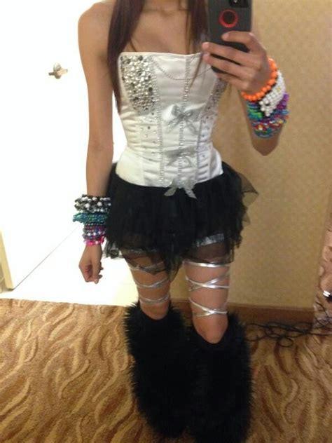 Best 25+ Simple rave outfits ideas on Pinterest | Hard music festival Hard summer music ...